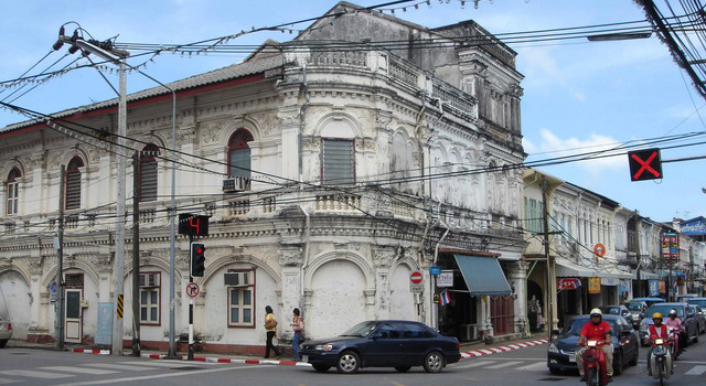 Casco antiguo de Phuket